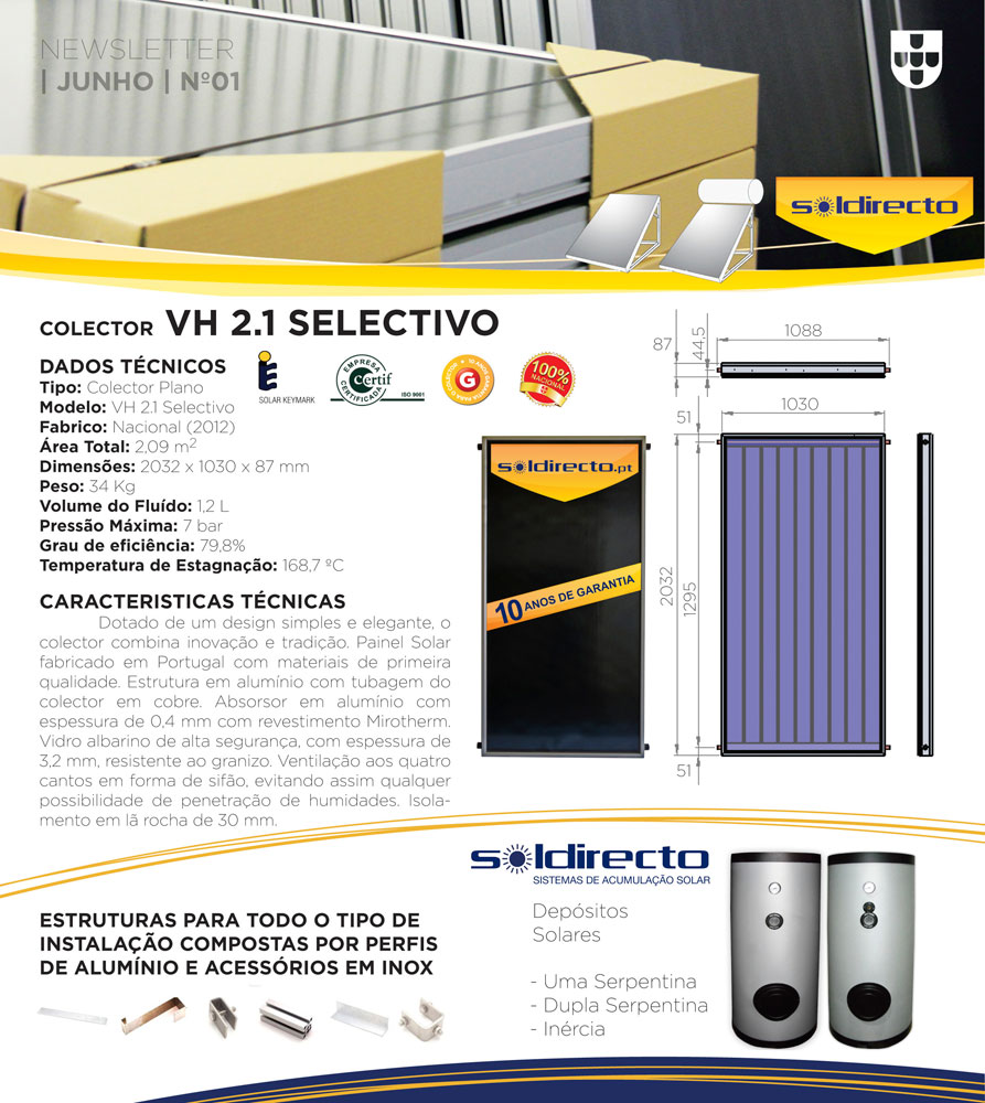 Soldirecto range of products